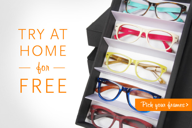 Try glasses at home
